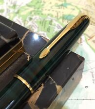 SUPERB 1998 PARKER SONNET GREEN SWIRL LAQUE FOUNTAIN PEN-BOXED-FREE UK POST!