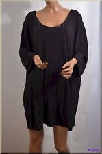 haut tee shirt noir  KIABI  grande  taille 58/60  ref 0917100