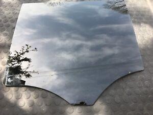 MERCEDES BENZ GL350 DOOR WINDOW GLASS REAR LEFT BLACK AND FOIL