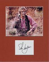 STEVE MCQUEEN  CUSTOM 8 by 10 MATTED REPRINT PHOTO & REPRINT  AUTOGRAPH