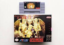 Shin Megami Tensei 2 - SNES Super Nintendo English Translated (USA NTSC) Horror