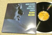 Oliver Nelson More Blues and Abstract Truth Impulse! IMP212 RE US 1997 NM/EX GF