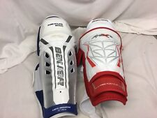 Bauer APX2 Nexus 8000 Hockey Shin Guards 14 Inch Mismatch NWT YGI IHH SH30