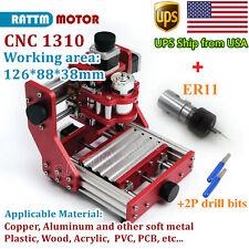 Usabenbox 1310 Cnc Router Metal Engraving Aluminum Copper Cutter Machine Er11