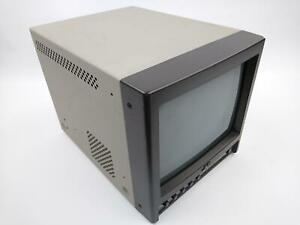 "JVC TM-A9U 9"" NTSC Color CRT Video Monitor TESTED AND WORKING"