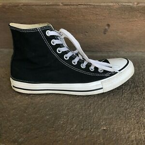 Converse Chuck Taylor All Star Hi M9160 Black Sneakers Shoes Men 6.5 Women 8.5