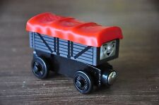 THOMAS TANK Wooden Railway Engine Carriage Giggling Troublesome Truck - Like NEW