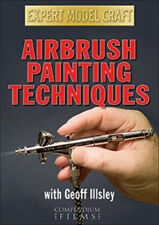 Airbrush Painting Techniques DVD (2011) Geoff Illsley cert E ***NEW***