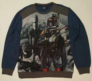 Disney Star Wars Men's Sweater Shirt Pullover Size XL NWT New