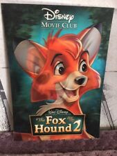 Disney Movie Club 3D Lenticular Card The Fox and the Hound Ii 2 collector's