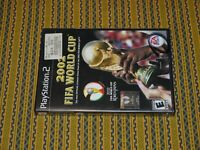 2002 FIFA World Cup (Sony PlayStation 2 PS2, 2002) Complete FREE SHIPPING! NICE