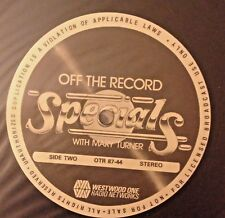 RADIO SHOW: OFF THE RECORD MARY TURNER 10/26/87 LOVERBOY w/14 TUNES/INTERVIEWS