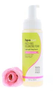 DevaCurl Frizz-Free Volumizing Foam, 7.5 oz