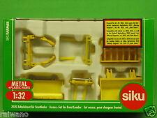 1:32 Siku Farmer Zubehör 7070 Zubehörset Frontlader Blitzversand per DHL-Paket