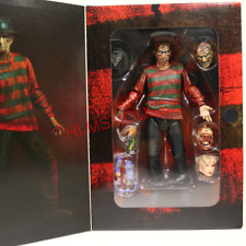 "Nightmare on Elm Street Ultimate Freddy Krueger 7"" Action Figure NECA Collection"