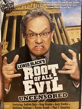 Lewis Black's Root of All Evil Uncensored Brand New Dvd