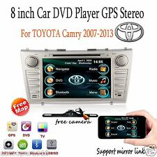 GPS Navigation System Car Stereo DVD Player Radio FM for Toyota Camry 2007-2011