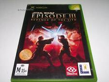 Star Wars Episode III Revenge of the Sith Xbox Original PAL *Complete*