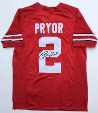 JSA Ohio State Buckeyes #2 TERRELLE PRYOR Signed Autographed Football Jersey
