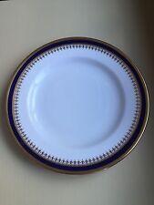 "Spode ""Knightsbridge"" Cobalt Blue Dessert Bread & Butter Plates/Dishes 6"""