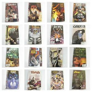 New Vintage DC Vertigo Adult Comics Graphic Lucifer Doom Hellblazer Mercy etc