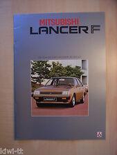 Mitsubishi Lancer F (1200 GL/GLX, 1400 GLX-A/T) Prospekt, Belgien (NL), 9.1982
