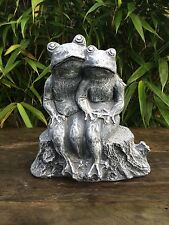 Loving Frogs Garden Statue Ornament Latex ONLY Mould/Mold (WA43)
