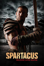 Framed Print - Spartacus Blood and Sand Poster (Picture Gladiator DVD Blu-Ray)