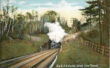 c1905 Boston & Albany Railroad B&A RR Series - State Line Tunnel Postcard