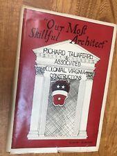 Architecture, Richard Taliaferro, Biography, History, Virginia