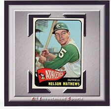 1965 Topps NELSON MATHEWS #87 MINT *awesome baseball card for set*M88C