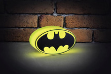 SALE NEW DC Comics Mini Batman Logo Light lamp for man cave or bedroom PP3326DC
