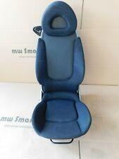Passenger Seat Smart 452 Roadster Airbag & Heated Seats Grey No 9197
