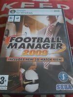 Football Manager 2009 (PC DVD Windows/Mac)