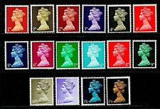SG723-744, COMPLETE SET (one of each value & colour), M MINT.