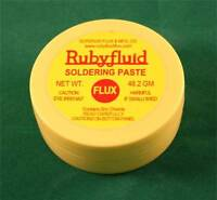 Ruby Rubyfluid Soldering PASTE Flux for Stained Glass - 2 oz.