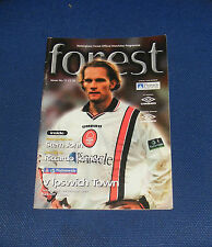 Nottingham Forest -v- Ipswich Town 1999-2000
