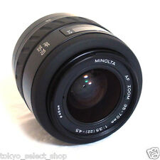 Minolta AF 35-70mm F/3.5-4.5 Zoom Lens Made in Japan Good!