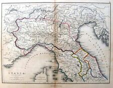 Butler's Ancient Atlas, Hand/Colored -1851- ITALIA