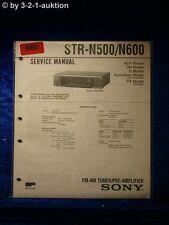 Sony Service Manual STR N500 / N600 Receiver (#0860)