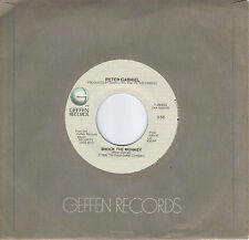 PETER GABRIEL  Shock The Monkey / Soft Dog (nonalbum track)  45