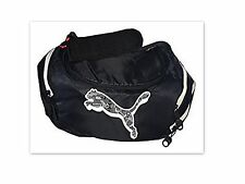 NWT PUMA Block Cat Duffel Bag black white