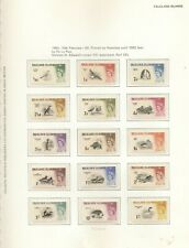 FALKLAND ISLANDS 1953-85 COMPLETE MNH COLLECTION ON PRINTED LEAVES (350)