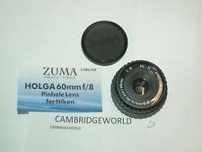 60mm F8 HOLGA PINHOLE Lens BRAND ORIGINAL NEW for Nikon DSLR  and SLR Cameras