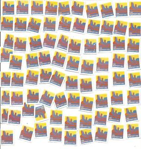 # 2902  80 Used US Stamps Lot Butte Nonprofit Issue