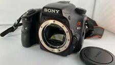 Sony Alpha SLT-A65V 24.3 MP SLR-Digitalkamera - Schwarz (Nur Gehäuse)