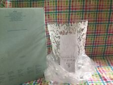 New PartyLite p9680 Couture Pillar Hurricane  Large Candle Holder / Vase