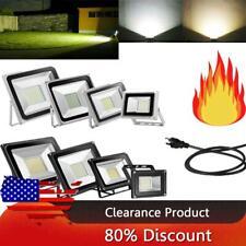 500W 300W 200W 150W 100W 50W 30W 20W 10W Outdoor LED Flood Light Bulb 110V US