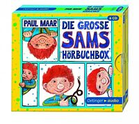 PAUL MAAR - DIE GROßE SAMS HÖRBUCHBOX 6 CD NEU