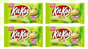 4 Kit Kat Key Lime Pie 🌴 Creme Chocolate Crisp Wafers LIMITED EDITION 1.5 OZ